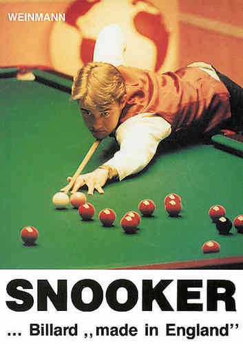 "Snooker Billard ""made in England"""